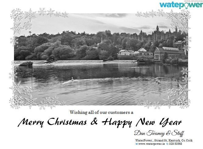 Christmas wishes from waterpower
