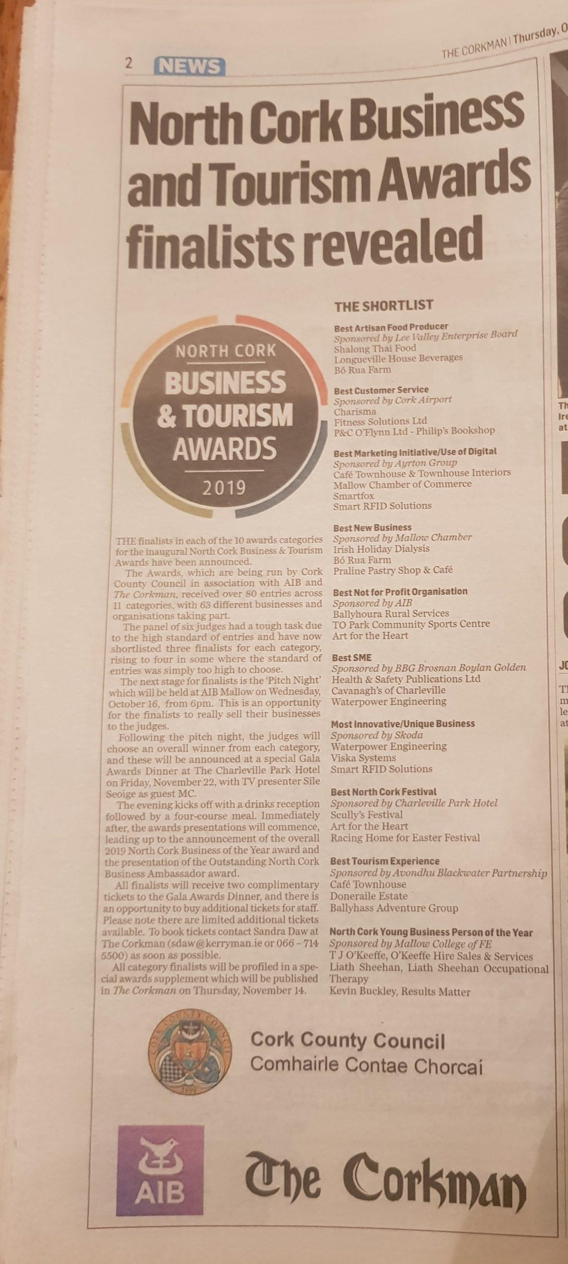 nomination for awards